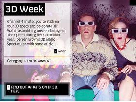 Channel 4 begins 3D week
