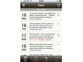Momento iPhone app