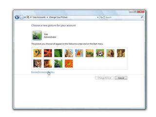 Windows 7 personalisation