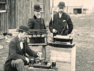 Marconi transmission test