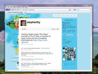 Stephen Fry Twitter