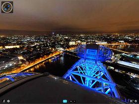 Nikon D700 used to capture London panorama