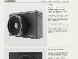 Holga D Digital camera concept