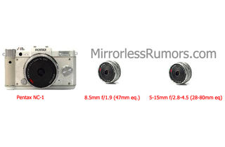 Pentax NC 1 mirrorless camera revealed
