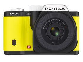 Pentax K-01 mirrorless camera launches
