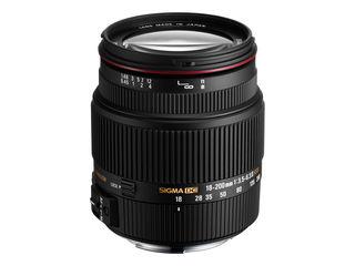 Sigma 18 200mm lens