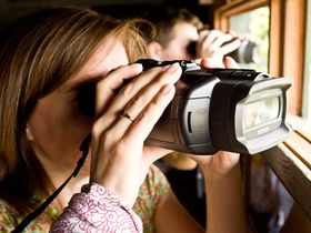 Sony introduces world's first digital binoculars