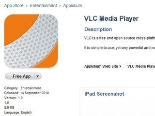 VLC Media Player on iPad