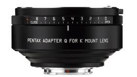 K-Mount lens adapter for Q announced