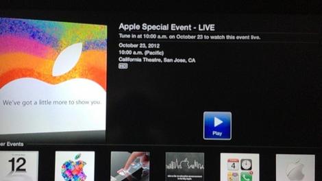 Updated: Apple to livestream iPad mini event