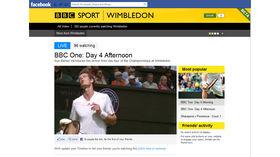 BBC Sport app hits Facebook to live stream Wimbledon, Olympics