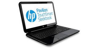 HP's Pavilion Touchsmart Sleekbook has a touchscreen, surprisingly