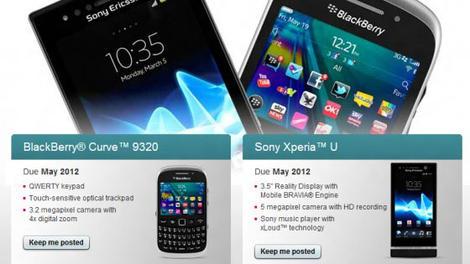 BlackBerry Curve 9320 confirmed for UK release