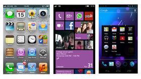 Android 4.1 vs Windows Phone 8 vs iOS 6
