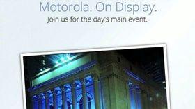 Motorola, Verizon announce their own Sept. 5 event