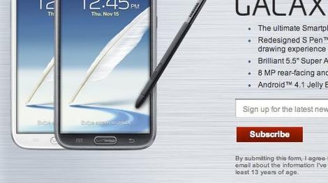 In Depth: Pre-orders for Verizon's Samsung Galaxy Note open now