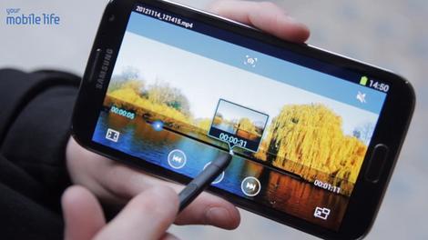 VIDEO: GALAXY Note II Video Features Walkthrough & Tips