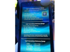 Intel unveils reference design for smartphones