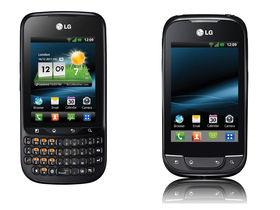LG Optimus Pro and LG Optimus Net unveiled