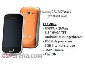 Samsung Galaxy Mini 2 set for MWC 2012?