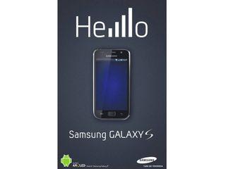 Samsung Galaxy S advert