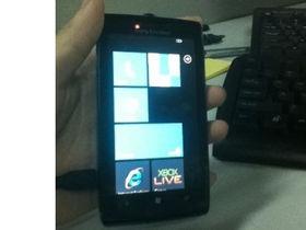Sony Ericsson Windows Phone photos emerge