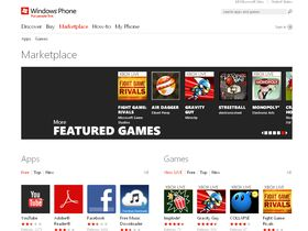 Windows Phone Web Marketplace now open
