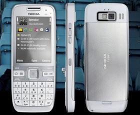 Nokia unveils latest smartphone - the E55