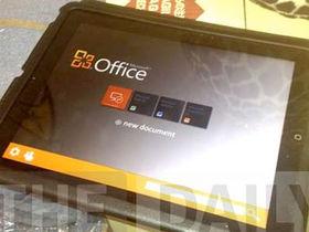 Office on iPad photo isn't real, says Microsoft