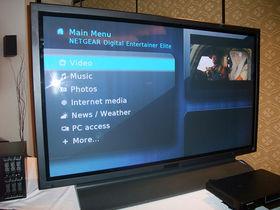 Netgear shows 'world's largest HD video jukebox'