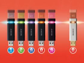 Sony unveils MicroVault Click USB range