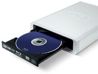LaCie d2 Blu ray burner