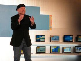 Intel talks touch on Ultrabooks, Windows 8