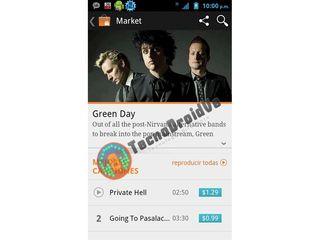 Google Music store screenshots leak