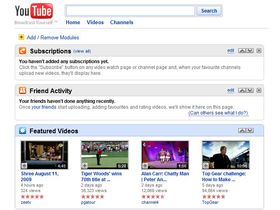YouTube undergoes streamlined re-design