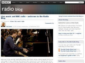 BBC Radio blog launches on website
