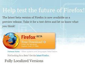 Mozilla announces Firefox 3.6 Beta 1 for download