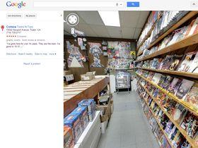 Google Maps lets you wander inside buildings