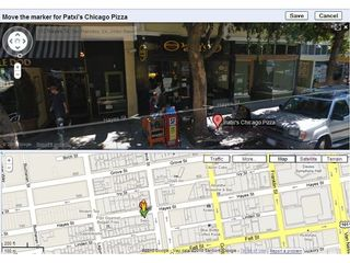 Google Street View now editable