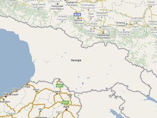 Google maps take on Georgia