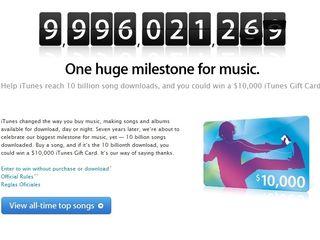 iTunes reaching massive milestone
