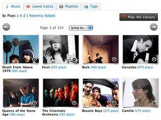 Last fm a popular music service