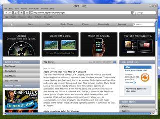 Safari could be running on Google OS