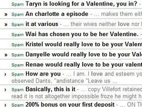 Sophos: Valentine's Day virus woes