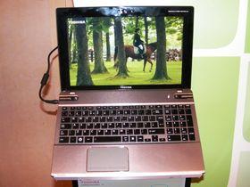 Toshiba Satellite P855 glasses-free 3D laptop announced