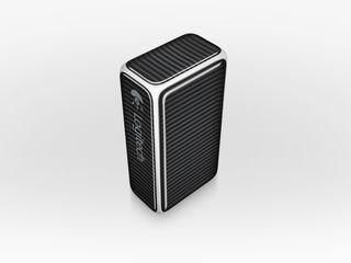 Logitech Cube is a mouse USB stick hybrid shaped like a brick