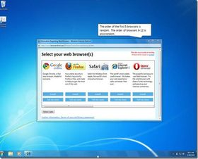 Microsoft unveils final browser ballot page