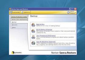 Norton Save & Restore