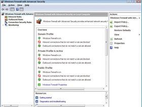 Windows Firewall (Vista)