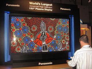Panasonic 150 inch 3DTV